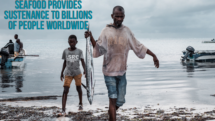Seafood feeds billions worldwide
